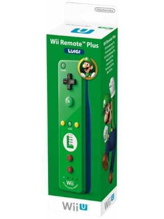 Контроллер Remote Plus Luigi (со встроенным Wii Motion)