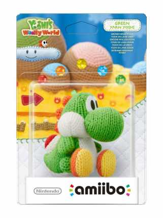 Amiibo Green Yoshi Yarn