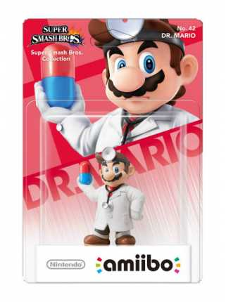 Фигурка amiibo - Доктор Марио (Dr. Mario - коллекция Super Smash Bros)