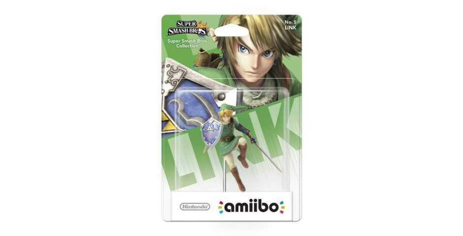 """amiibo"" Smash Link"