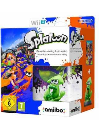 Комплект игра Splatoon + Amiibo: Inkling Squid  [WiiU]