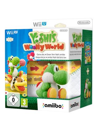 Комплект игра Yoshis Woolly World + Amiibo: Yoshi Green Yarn  [WiiU]