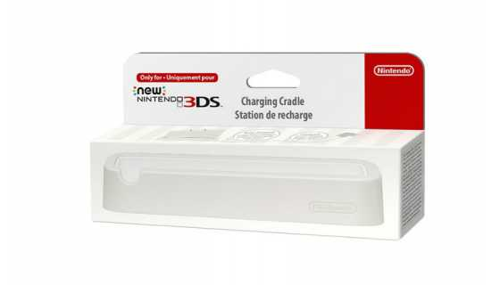 New Nintendo 3DS Cradle ( белый )