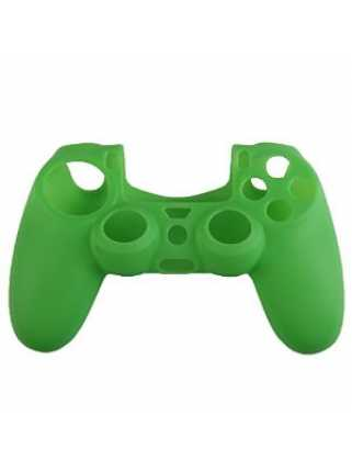 Силиконовый чехол для DUALSHOCK 4 (Зеленый)