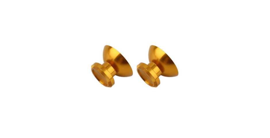 Стики цветные золотые (металл) [PS4]