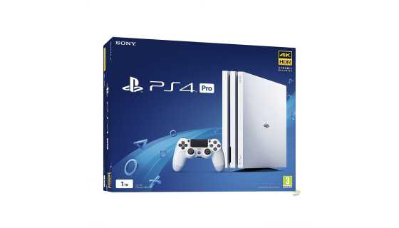 Sony PlayStation 4 Pro White (1ТБ)