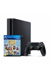 Sony PlayStation 4 Slim + Игра Это Ты! (РСТ,500ГБ), черная