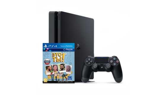 Sony PlayStation - Sony PlayStation 4 Slim + Игра Это Ты! (РСТ,500ГБ), черная