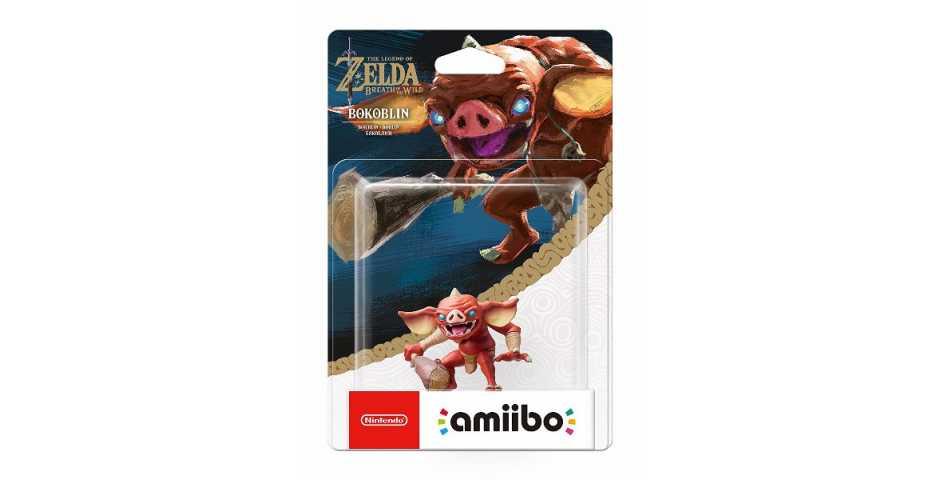 Фигурка amiibo - Бокоблин (Bokoblin коллекция The Legend of Zelda)