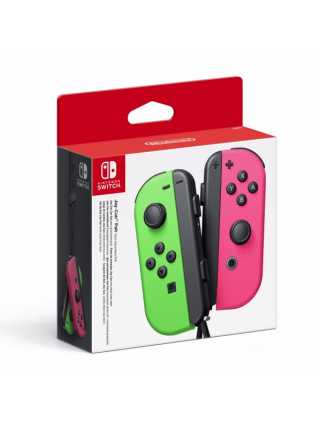 Nintendo Switch - Joy-Con (L/R)-Neon Green / Neon Pink