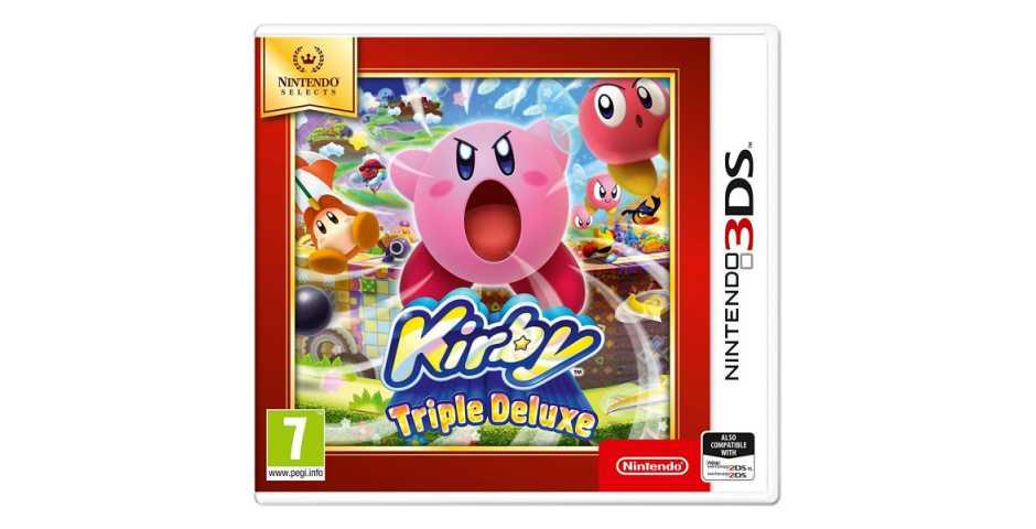Kirby Triple Deluxe (Nintendo Selects)