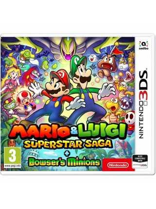 Mario and Luigi: Superstar Saga + Bowser's Minions [3DS]
