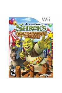 Shrek's Carnival Craze Party Games [Wii]