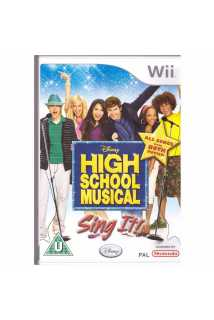 High School Musical Sing It (USED) [Wii]