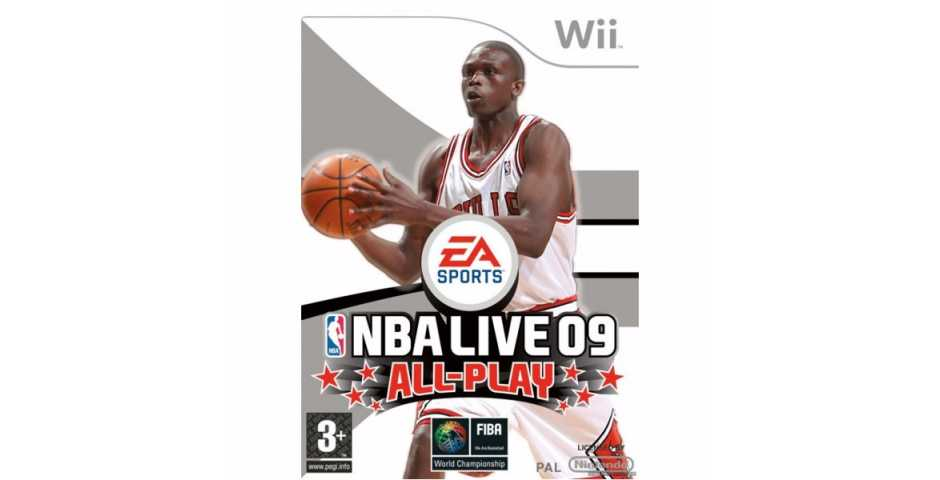 NBA Live 09 All-Play (USED)
