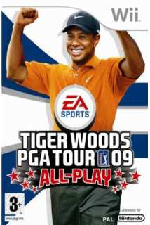 Tiger Woods PGA Tour 09 All-Play (USED) [Nintendo Wii]