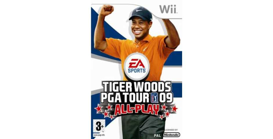 Tiger Woods PGA Tour 09 All-Play (used)