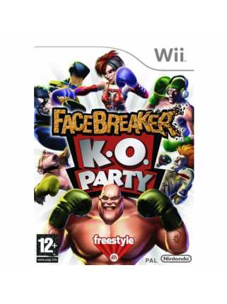 Facebreaker K.O. Party (USED) [Wii]