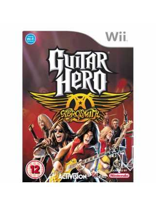 Guitar Hero: Aerosmith [Nintendo Wii]