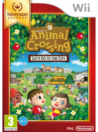 Nintendo Selects: Animal Crossing: Let's Go to the City [Wii]