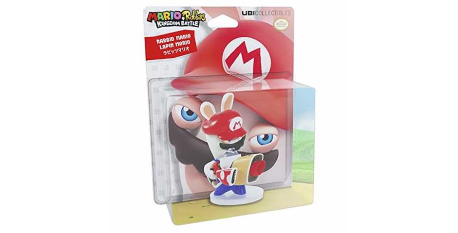 Фигурка Mario+Rabbids Битва за королевство Кролик Марио (8 см)