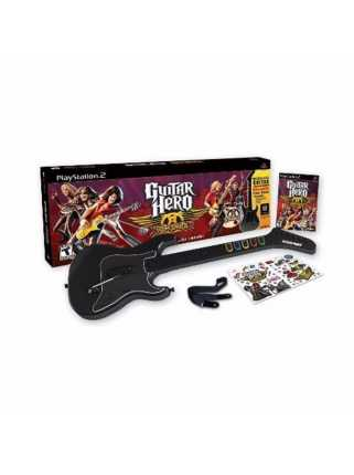 Guitar Hero: Aerosmith (Игра + Гитара) [PS2]