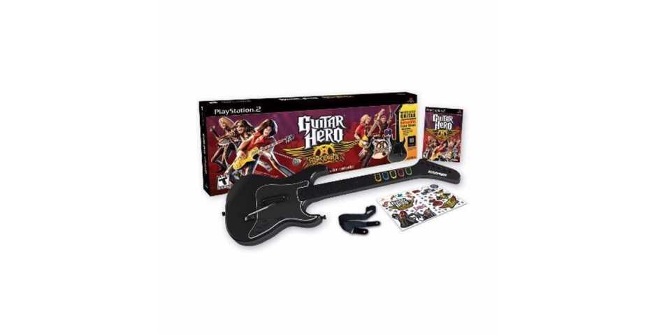 Guitar Hero: Aerosmith (Игра + Гитара)