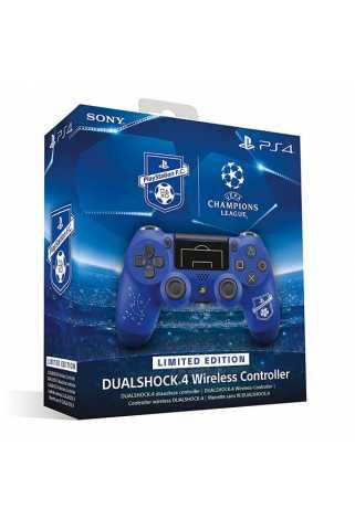 Dualshock 4 Беспроводной геймпад PlayStation F.C. Limited Edition (Синий) [PS4]