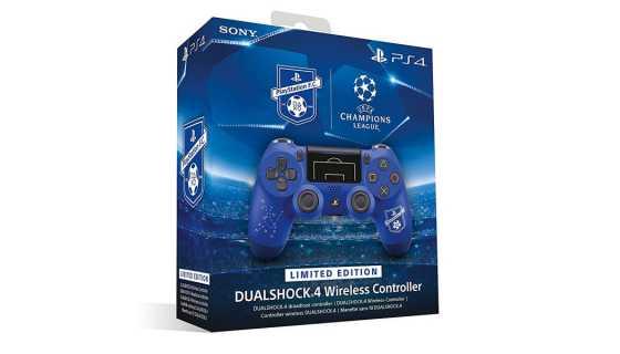 Dualshock 4 Беспроводной геймпад PlayStation F.C. Limited Edition (Синий)