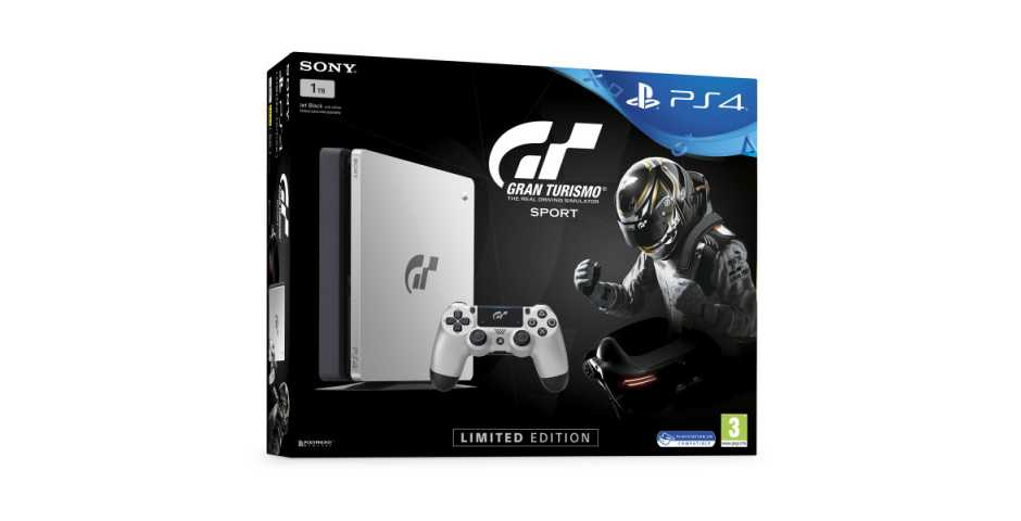 Sony PlayStation 4 Slim (1TБ) Limited Edition Gran Turismo Sport