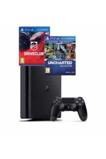 Sony PlayStation 4 Slim (500ГБ) + 4 игры