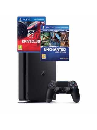 Sony PlayStation 4 Slim (500ГБ) + 4 игры