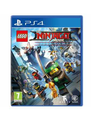 LEGO: Ниндзяго Фильм. Видеоигра [PS4]