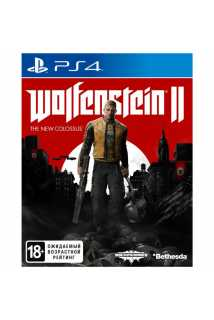Wolfenstein II: The New Colossus [PS4] Trade-in | Б/У