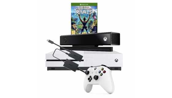 Xbox One S 1TB + Pad + Kinect 2.0 + Kinect Sports Rivals