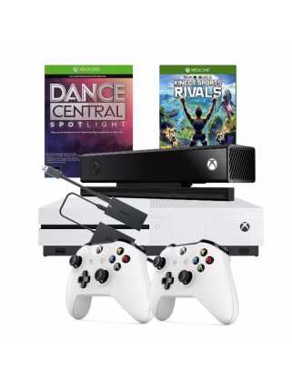 Xbox One S 1TB + Pad + Kinect 2.0 + Kinect Sports Rivals + Dance