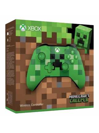 Геймпад Xbox One S, Minecraft Creeper