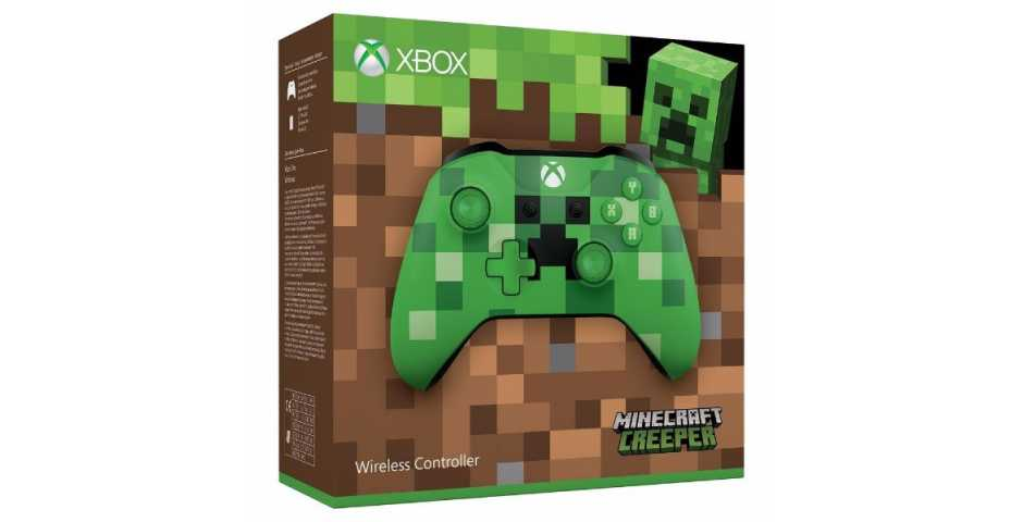Геймпад Xbox One S (Minecraft Creeper)