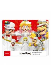 Amiibo Mario + Peach + Bowser