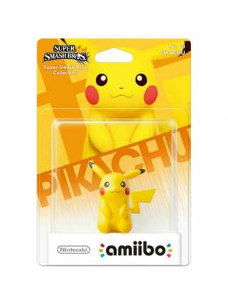 Фигурка amiibo - Пикачу (Pikachu - коллекция Super Smash Bros)
