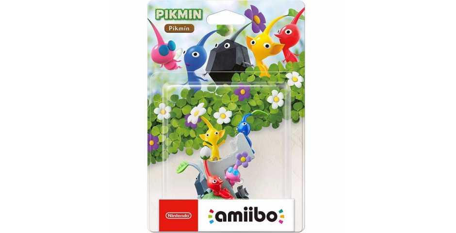 Фигурка amiibo - Пикмины (Pikmin коллекция Pikmin)