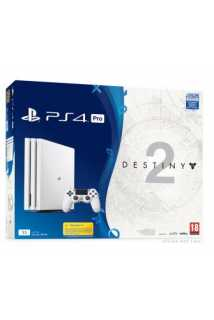Sony PlayStation 4 Pro White + Destiny 2  (1TB)