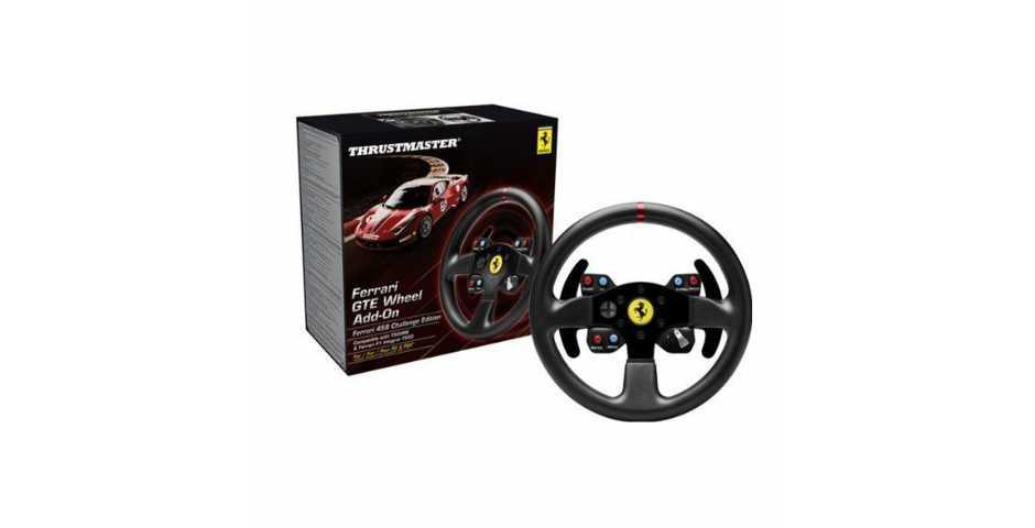 Съемный руль Ferrari GTE F458 Wheel Add-On