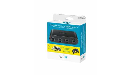 Wii U Gamecube Controller Adapter