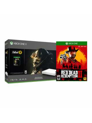 Xbox One X + Fallout 76 + Red Dead Redemption 2