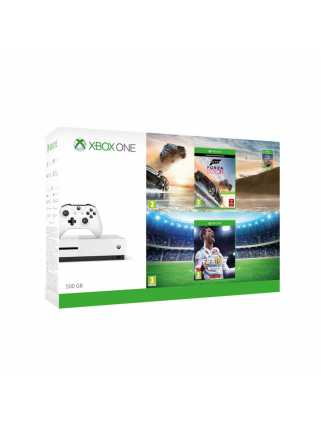 Xbox ONE S 500GB+Horizon 3+gamePad+FIFA 18