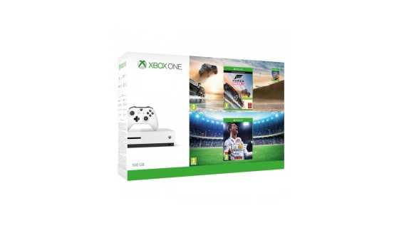 Xbox ONE S 500GB+Horizon 3+gamePad+FIFA 18