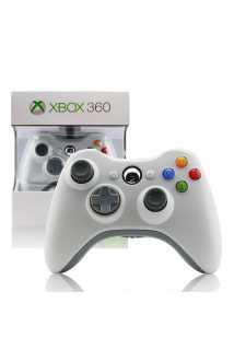 Геймпад Microsoft Wireless Controller (White) [Xbox 360]