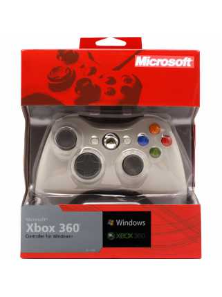 Microsoft Xbox 360 Controller for Windows (белый)