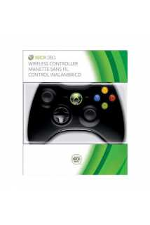 Геймпад Microsoft Wireless Controller (Black) [Xbox 360]